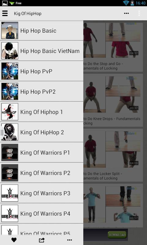 Tổng Hợp Các video Về Hip Hop