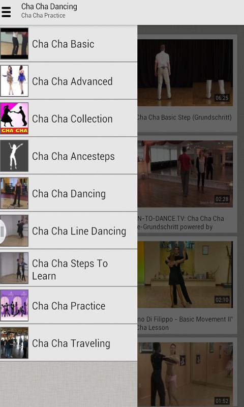 Học nhảy cha cha từ cơ bản tới nâng cao qua video