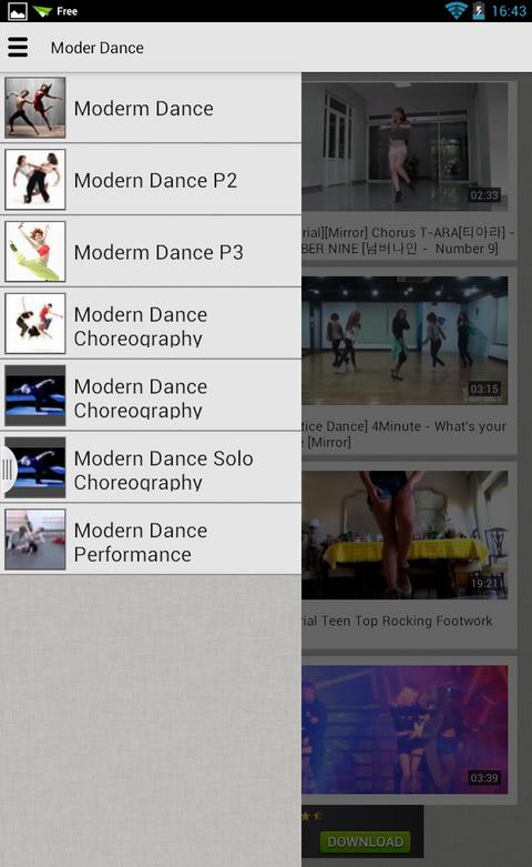 Tổng Hợp Các Video Nhảy Hiện Đại