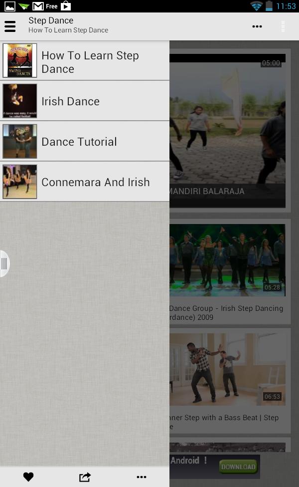Học Nhảy Step Dance qua video
